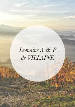 Header-A & P de VILLAINE